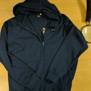Men's Under Armour navy blue jacket size large